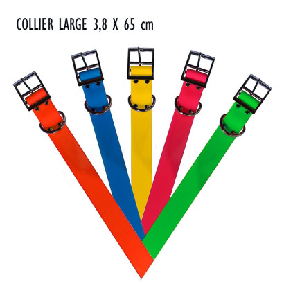 COLLIER LARGE BIOTHANE...