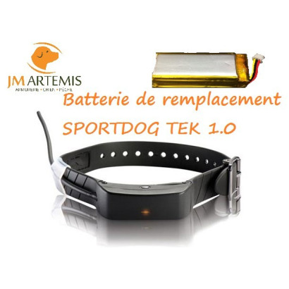 Batterie rechange collier SPORTDOG TEK 1.0